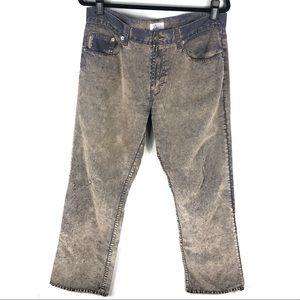 Armani Exchange acid wash jeans B19